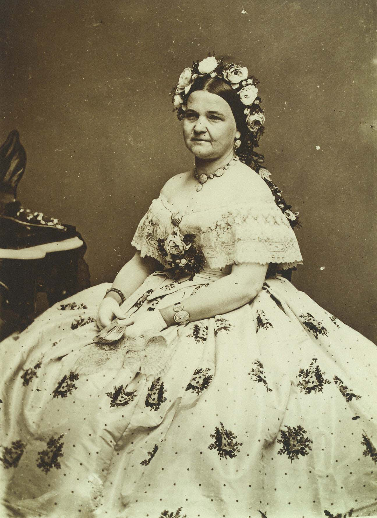 Mary Todd Lincoln Wedding Dress